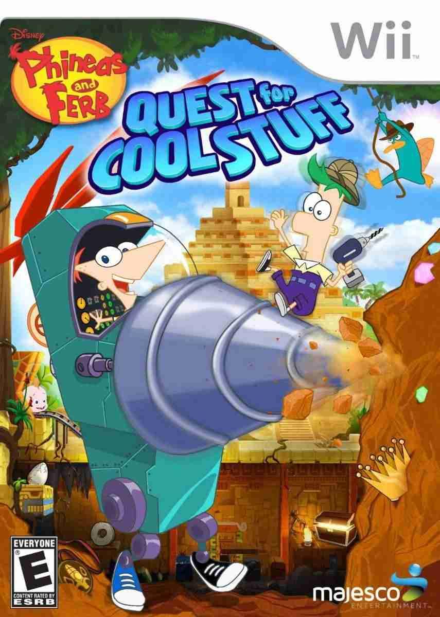 Descargar Phineas And Ferb Quest For Cool Stuff [MULTI][USA][KDZ] por Torrent